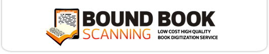 bound book scanning services - image of Bound Book Scanning logo